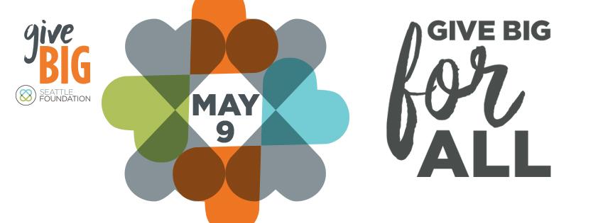 GiveBIG May 9th